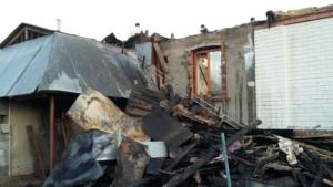 Тулинов Виктор. В Перми сгорел дом брата служителя Виктора Тулинова