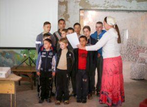 Светлана. Труд сестры Светланы среди детей из неблагополучных семей