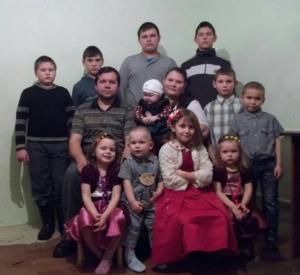 Грушенцовы. Большая нужда в многодетной семье Грушенцовых