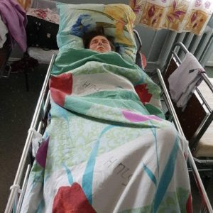 Чобану Елена. Помощь сестре на операцию.
