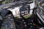 Сгорел дом многодетной семьи Бордачевых