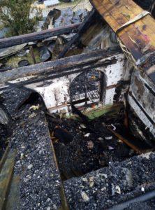 Бордачевы. Сгорел дом многодетной семьи
