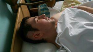 Скоромный Виталий, которому была нужна помощь, чтобы расплатиться за лечение
