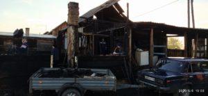Сгорел дом семьи Индюковых в Иланском