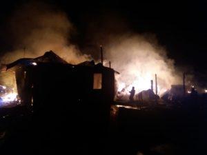 Сгорел дом семьи Антоновых
