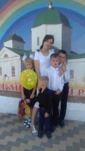 Нужна помощь Елене Громыко, многодетной маме, которой борется с онкологическим заболеванием.