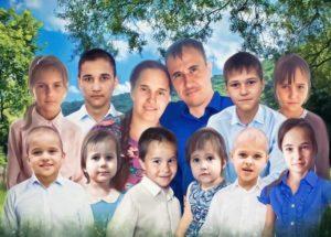 Михайловы. Сгорел дом многодетной семьи Михайловых
