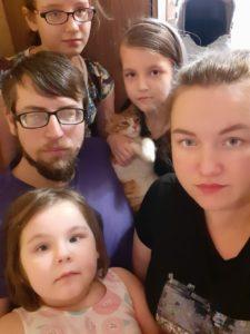 Семья Плотниковых. Нужна помощь маленькой девочке.